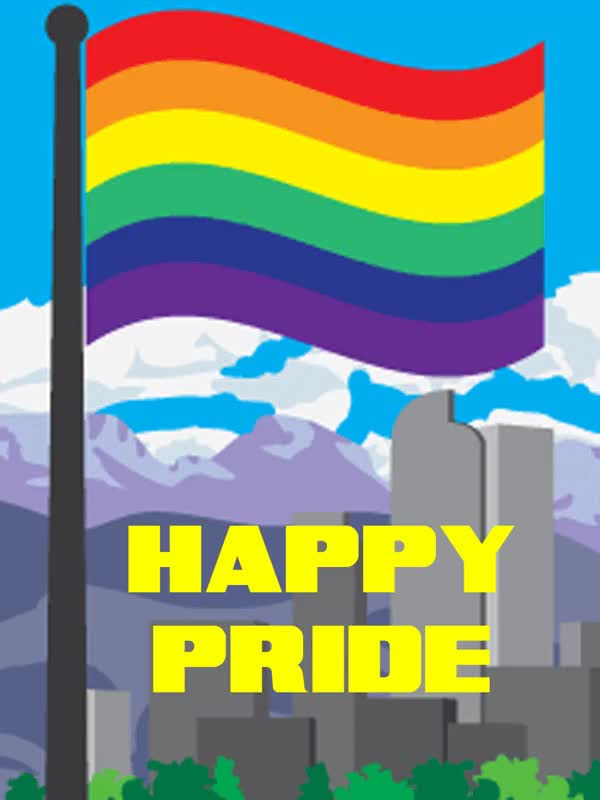 Watch and share Happy Gay Pride Denver! GIFs on Gfycat