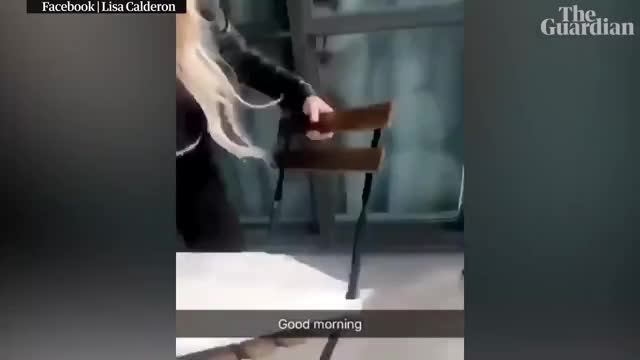 Watch Video of woman throwing chair off 45th storey balcony in Canada GIF on Gfycat. Discover more 2019, Chair, canada, crime, news, omg, stupid, toronto, woman GIFs on Gfycat