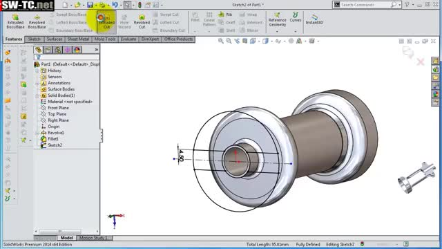Watch SolidWorks Tutorial #209: Corkscrew -bottle opener2 (tapered helix) GIF on Gfycat. Discover more Advanced, animation, arduino, art, assembly, beginner, catia, design, electronics, furniture, pewdiepie, simulation GIFs on Gfycat