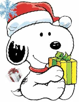 Watch and share Snoopy Christmas GIFs on Gfycat