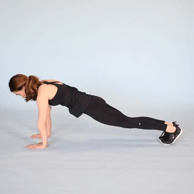 Watch and share 400x400 Plank Jacks Plank Jack GIFs by Healthline on Gfycat