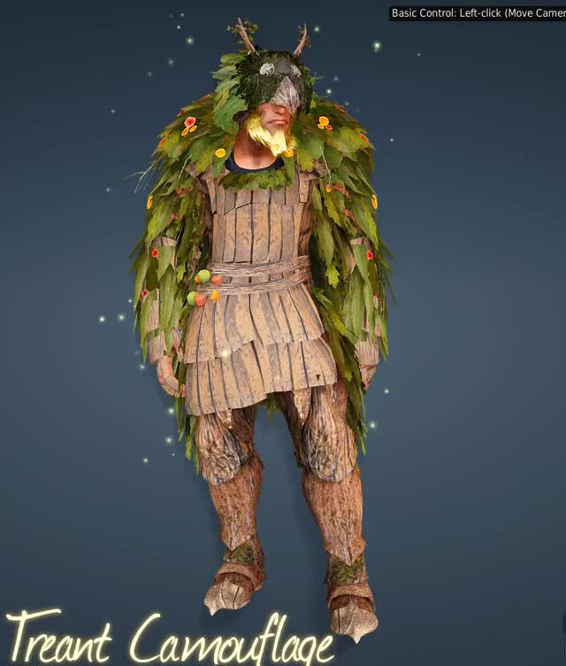 Watch and share BDO - Berserker - Treant Camouflage GIFs by wioumlol on Gfycat