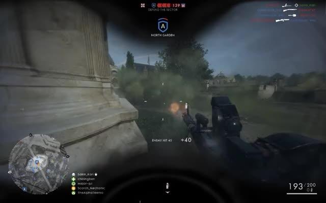 Watch and share Killstreak GIFs and Bf1 GIFs on Gfycat