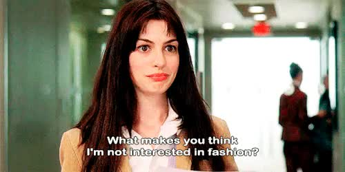 Watch The Devil Wears Prada (2006) GIF on Gfycat. Discover more 00s, 2000s, 2006, andrea sachs, andy sachs, anne hathaway, fashion, film, gif, movie, subtitles, the devil wears prada GIFs on Gfycat