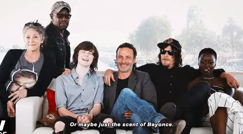 Watch and share Melissa Mcbride GIFs and Andrew Lincoln GIFs on Gfycat