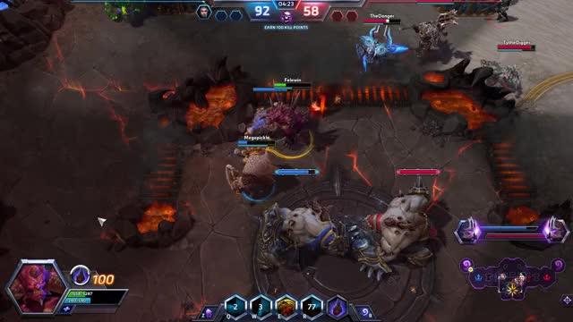 Blade Dash Overpower