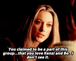 Watch and share Lost Girl Spoilers GIFs and Rachel Skarsten GIFs on Gfycat