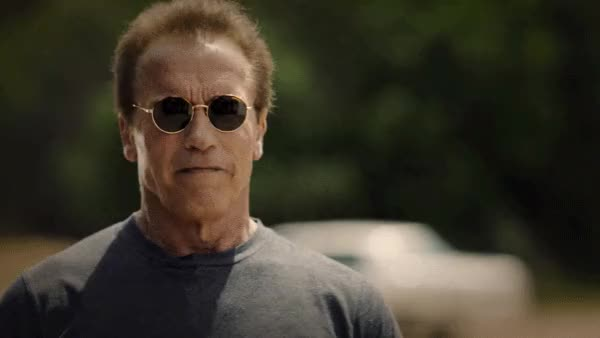 Watch and share Arnold Schwarzenegger GIFs and The Terminator GIFs by reactionclub on Gfycat