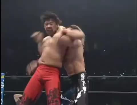 NJPW GREATEST MOMENTS TANAHASHIvsNAKAMURA SPECIAL GIFs
