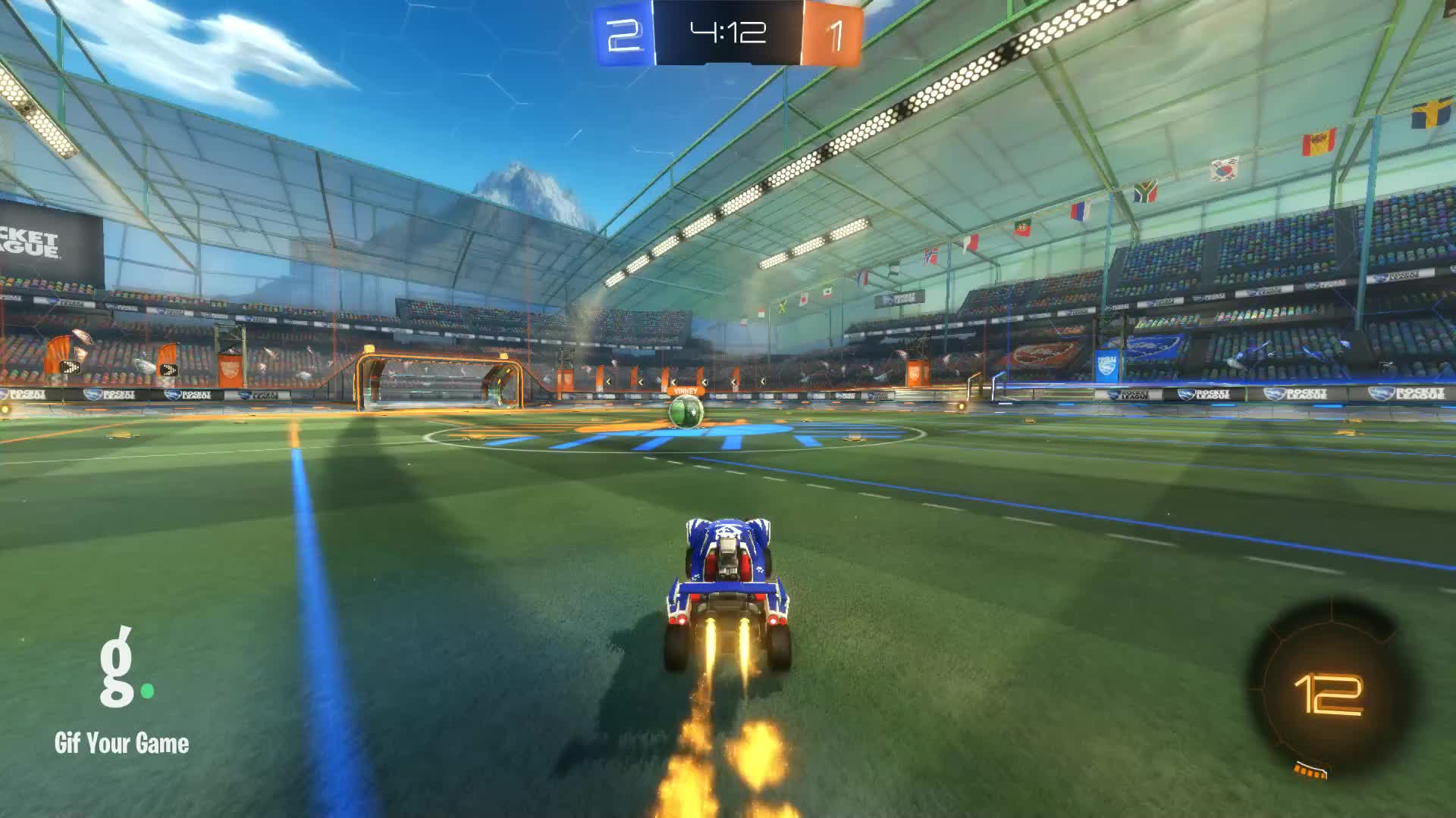 Drippy, Gif Your Game, GifYourGame, Goal, Rocket League, RocketLeague, Goal 4: Drippy GIFs