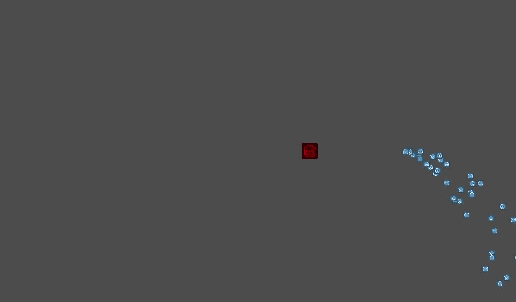 godot particle on paralax demonstration - actual GIFs