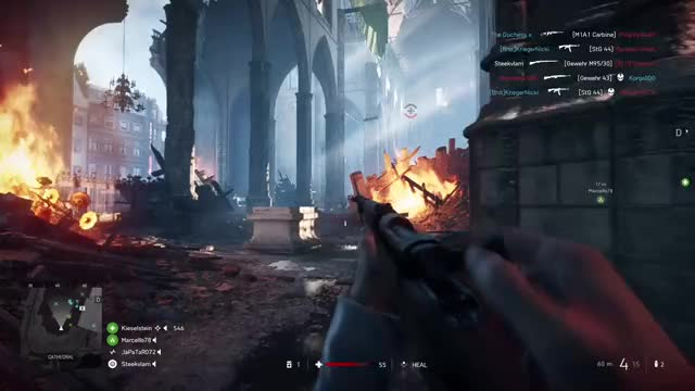 Watch Double headshot GIF by Xbox DVR (@xboxdvr) on Gfycat. Discover more BattlefieldV, Steekvlam, xbox, xbox dvr, xbox one GIFs on Gfycat