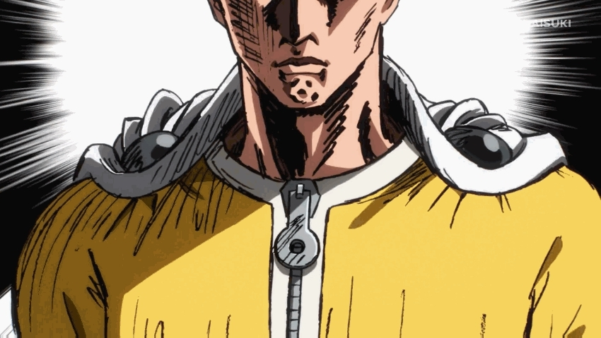 onepunchman, My Daily Routine GIFs