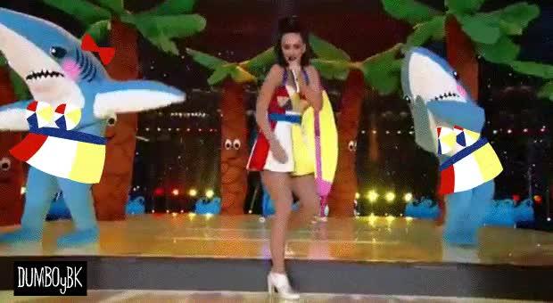 Shark-Chan's big moment! W-will senpai finally notice her?? : TsundereSharks GIFs