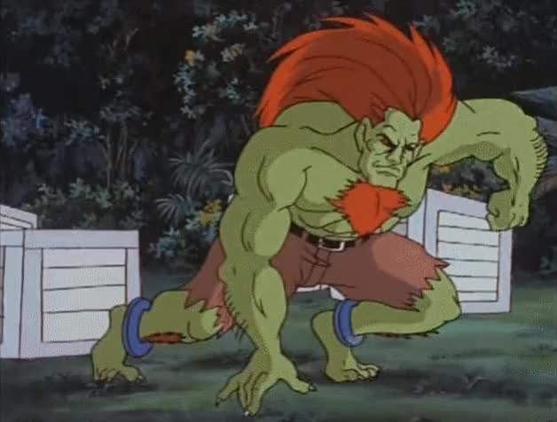 Watch and share 01 Hit From Blanka GIFs by RadioactiveSpoon on Gfycat
