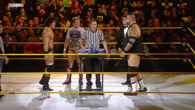 WWE NXT: NXT Rookie Challenge: Arm Wrestling GIF by Blaze