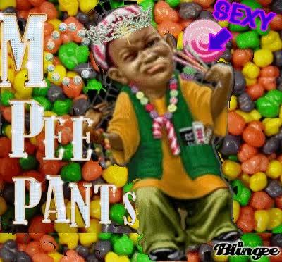 Mc pants pee