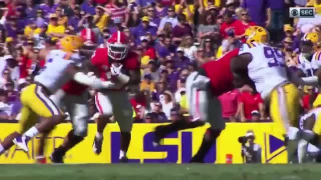 Watch Holyfield Truck GIF on Gfycat. Discover more Georgia, Georgia Bulldogs, Georgia Bulldogs 2018, LSU vs Georgia, UGA GIFs on Gfycat