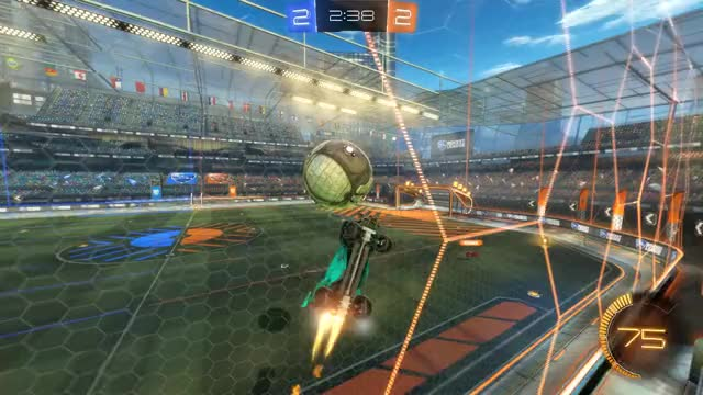 Watch Goal 5: Flip GIF by Gif Your Game (@gifyourgame) on Gfycat. Discover more Flip, Gif Your Game, GifYourGame, Goal, Rocket League, RocketLeague GIFs on Gfycat