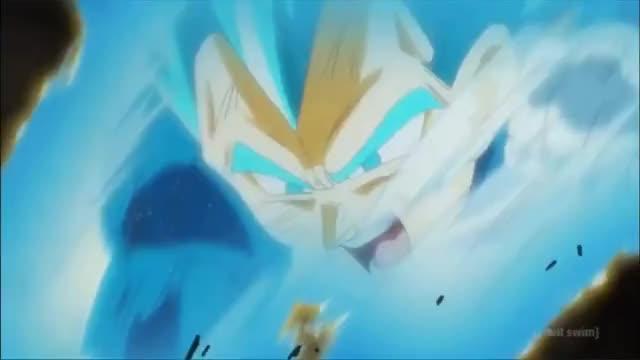 Watch Vegeta vs Goku Black (Rematch) Dragon Ball Super (English Dub) GIF on Gfycat. Discover more related GIFs on Gfycat