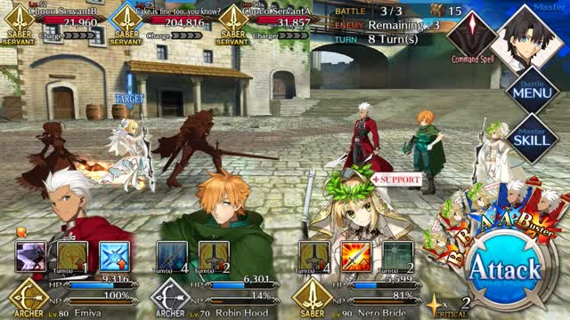 Watch and share Noble Phantasm GIFs and Nero Bride GIFs by thebombzen on Gfycat