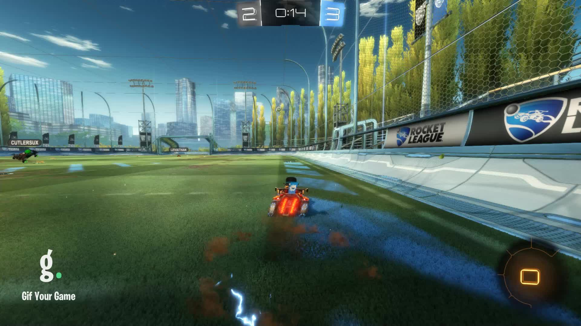 Assist, Duck Dodgers, Gif Your Game, GifYourGame, Rocket League, RocketLeague, Assist 2: Duck Dodgers GIFs