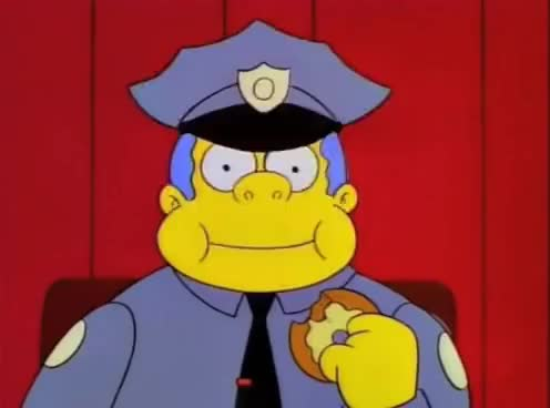 Watch and share Simpsons Burns' Suit Wiggums Twin Peaks Dream GIFs on Gfycat