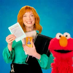 Watch and share Christina Hendricks GIFs and Sesame Street GIFs on Gfycat