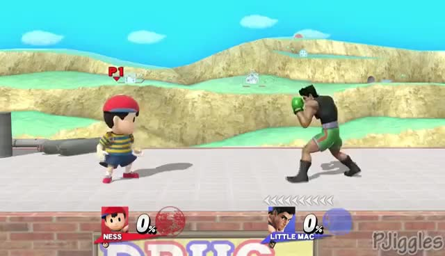 "Watch and share Ness Says ""Okay"" In Response To Other Taunts - SSB4 Wii U GIFs on Gfycat"