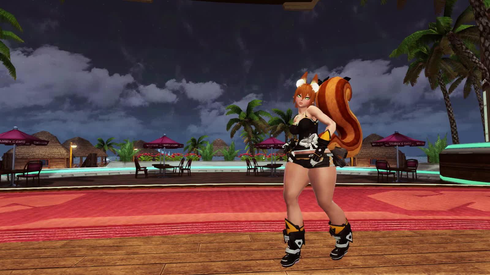dance, pso2, squirrel, Mayura, dance29 GIFs