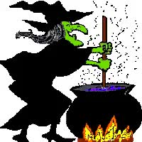 Watch and share Witch Stirring The Pot GIFs on Gfycat
