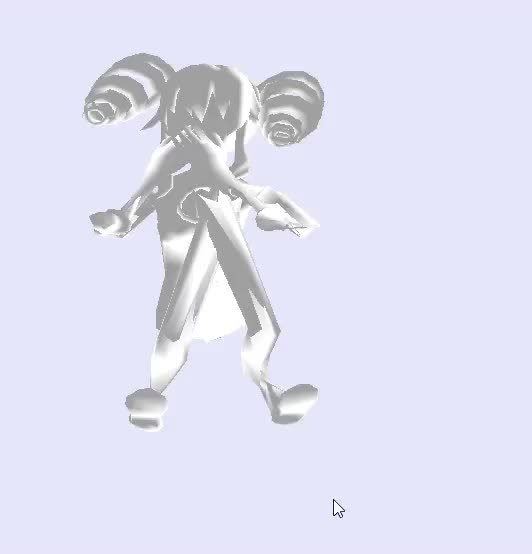 gamindustri, So I was trying to port over some of the ReBirth;2 models to Mario Kart Wii (for science) and this happened. Uni has never been scarier. (reddit) GIFs