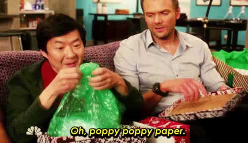 Watch and share Joel Mchale GIFs and Ken Jeong GIFs on Gfycat