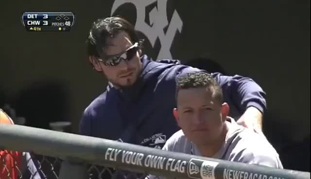 Watch and share Anibel Sanchez GIFs and Detroit Tigers GIFs on Gfycat
