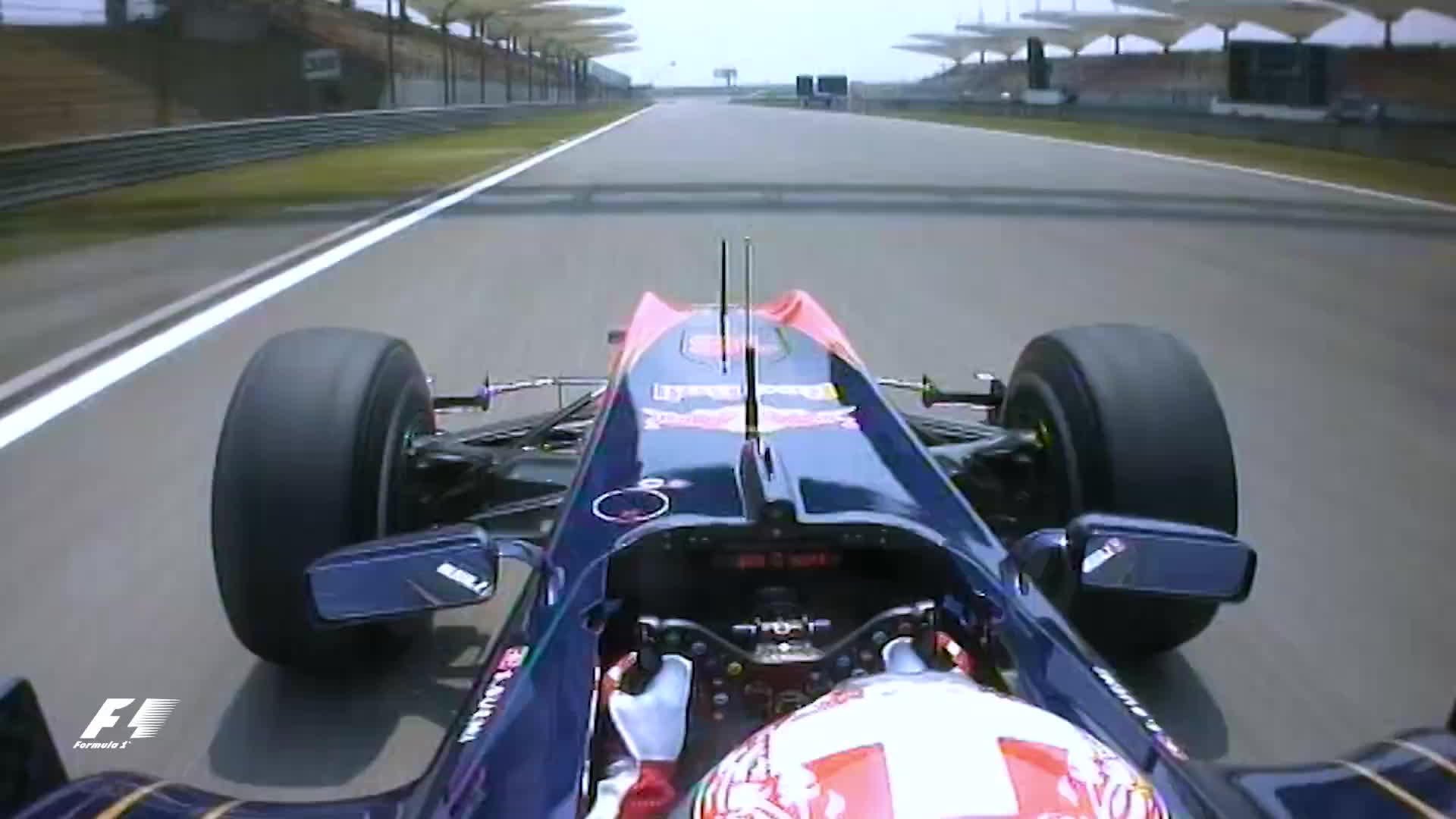 f1, formula 1, formula one, Sebastien Buemi's Wheels Come Off | 2010 Chinese Grand Prix GIFs
