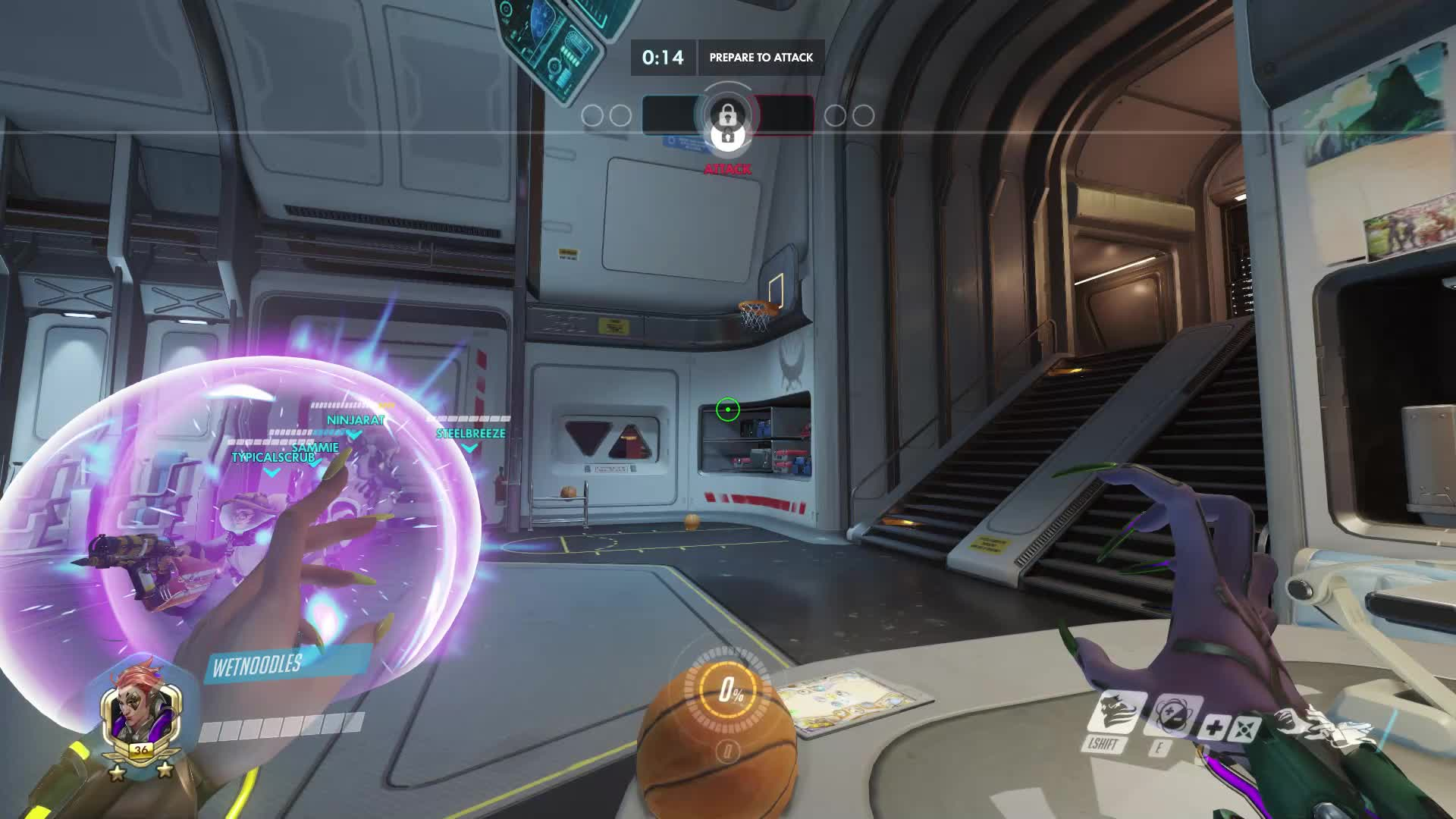 basketball, comedy, highlight, moira, overwatch, unlikely,  GIFs