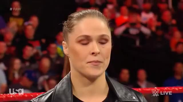 Watch Ronda Rousey Interrupts Stephanie McMahon (FULL SEGMENT) RAW: March 5. 2018 (HD) GIF on Gfycat. Discover more ronda rousey GIFs on Gfycat