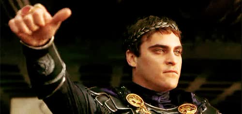 Watch this thumbs down GIF by Miss GIF (@mizznaii) on Gfycat. Discover more Joaquin Phoenix, boo, dislike, thatsucks GIFs on Gfycat