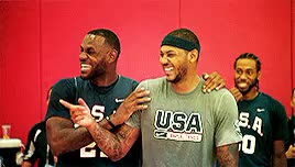 Watch and share Carmelo Anthony GIFs and Deandre Jordan GIFs on Gfycat