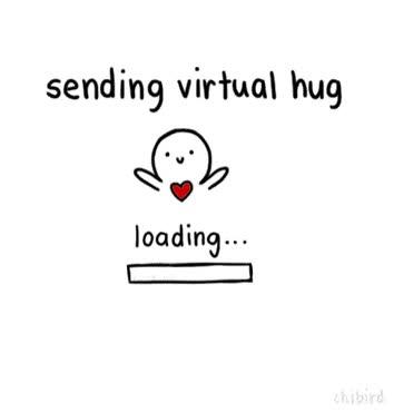 Watch and share Sending Virtual Hug GIFs on Gfycat