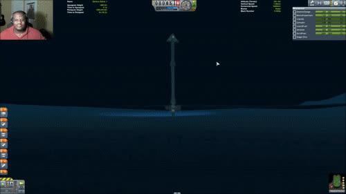 From the Ocean Floor to Orbit • r/KerbalSpaceProgram GIFs