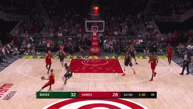 Watch and share Milwaukee Bucks GIFs and Atlanta Hawks GIFs on Gfycat