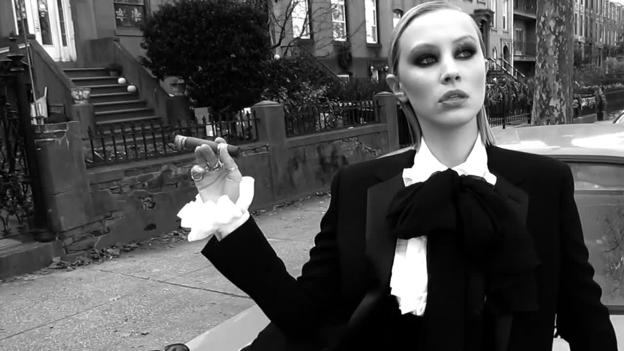 Rushka Bergman, Sarah Gadon Vogue Italia GIFs