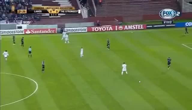 Watch and share Lanús Vs. The Strongest / Copa Libertadores-Octavos De Final Vuelta/ HD GIFs on Gfycat
