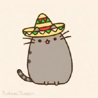 Watch and share Sombrero Pusheen GIFs on Gfycat