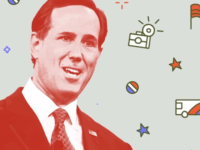 Watch Rick Santorum's 2016 Bid Shows Just How Far The GOP Field Has Come GIF on Gfycat. Discover more related GIFs on Gfycat