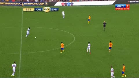 Watch and share Eden Hazard. Chelsea - Barcelona. 2015-16 GIFs by fatalali on Gfycat