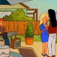 Watch and share Luanne Platter Character Dale Gribble Photo: How Romantic.  GIFs on Gfycat