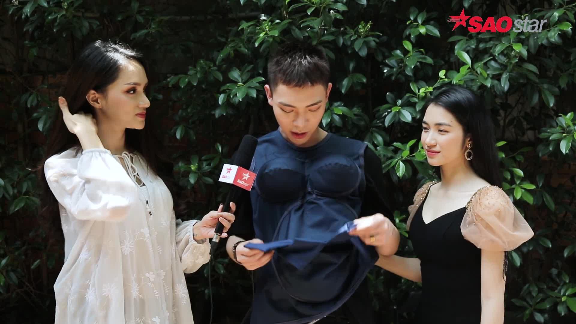 Mặc thử áo bầu, ERIK bất ngờ đòi thay thế Trường Giang cặp kè chị đại Hương Giang