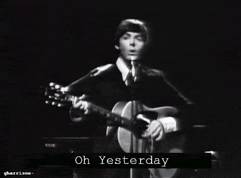 Watch the beatles, yesterday GIF on Gfycat. Discover more related GIFs on Gfycat